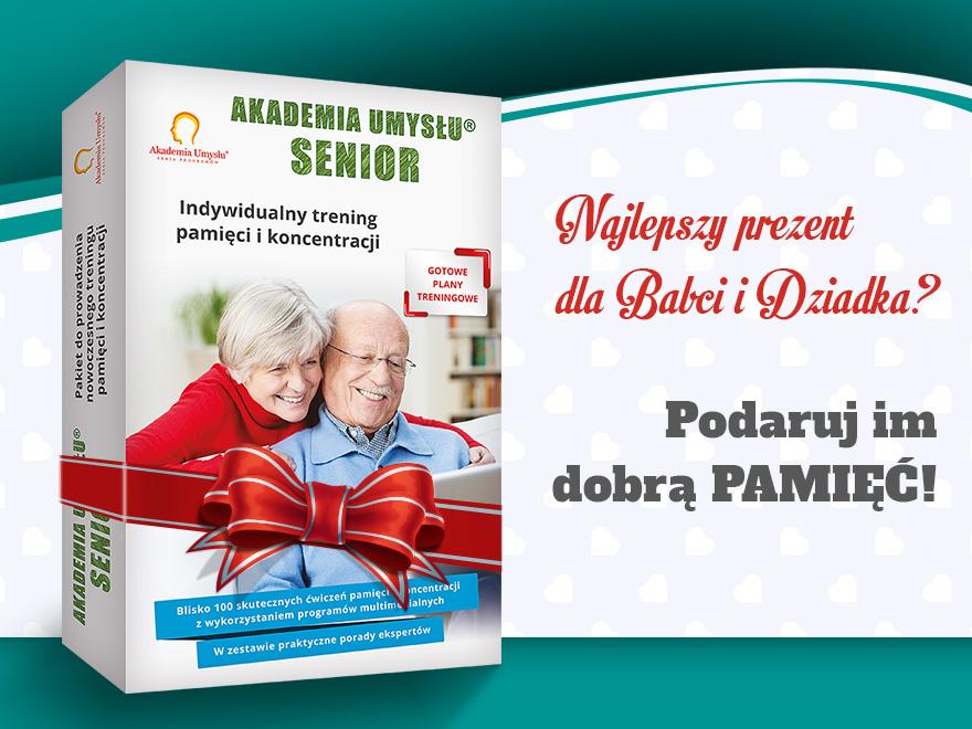 Prezent na Dzień Babci i Dziadka - podaruj im dobrą pamięć
